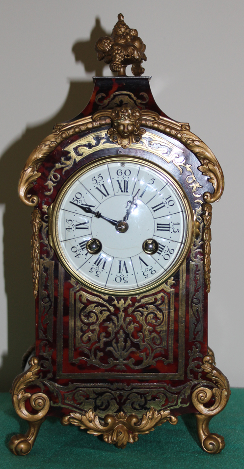 French Boulle Stiking Clock