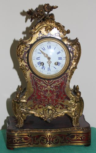 French Boulle Striking Clock by R&C