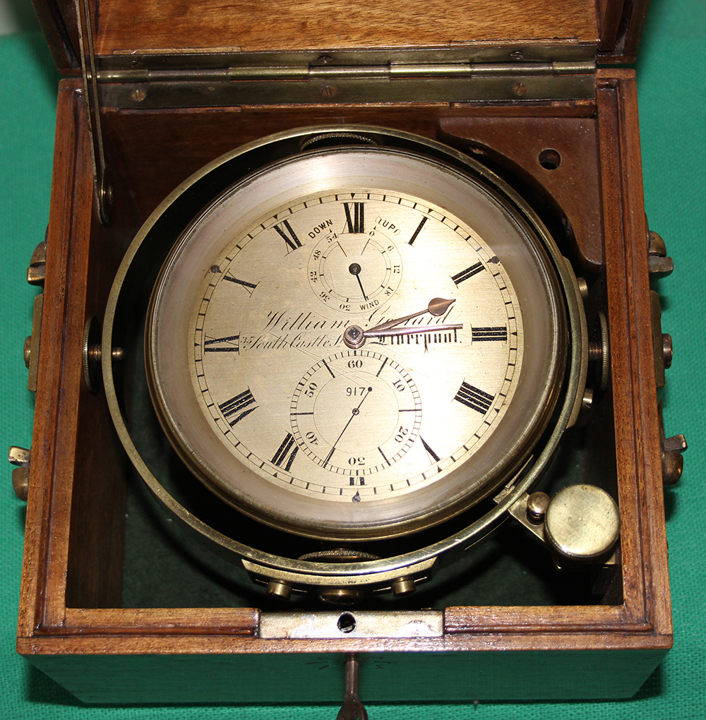 Two Day Marine Chronometer by William Gerrard 917